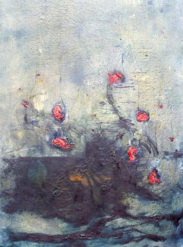 yves juhel, art, peintre, peinture, collection privée, huile, toile, bouquet