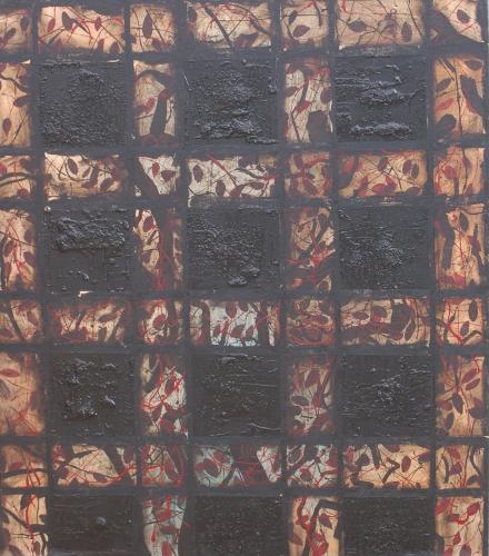 yves juhel,l'œuvre de la semaine,peintre,peinture,art,huile,toile,1996,arbre
