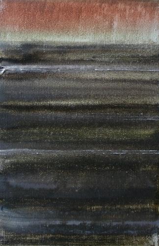 yves juhel, art, peinture, peintre, l'œuvre de la semaine, 1997, huile, toile, paysage