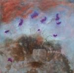 yves juhel,art,peintre,peinture,collection privée,huile,toile,bouquet
