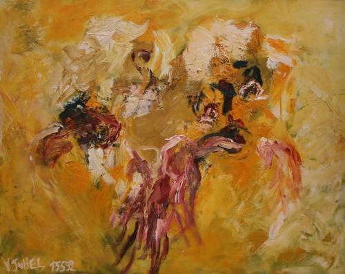 yves juhel, peintre, peinture, art, l'œuvre de la semaine, huile, contreplaqué, 1992
