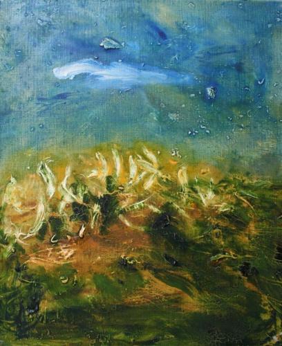 yves juhel, art, peintre, peinture, l'œuvre de la semaine, huile, toile, 2000, paysage