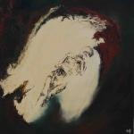 yves juhel,peintre,peinture,art,l'œuvre de la semaine,sanguine,fusain,craie blanche,craie grasse,papier,1990,misère,personnages