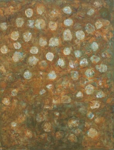 yves juhel,art,peintre,peinture,l'œuvre de la semaine,huile,toile,1998,bouquet,fruits