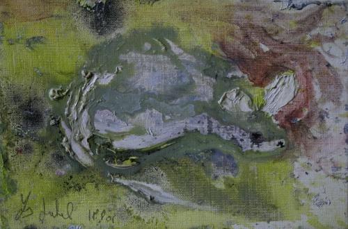 l'œuvre de la semaine, huile, toile, 2001, animaux, souris