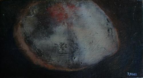 yves juhel,art,peintre,peinture,l'œuvre de la semaine,huile,toile,sans date,1997,fruits