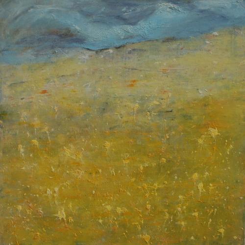yves juhel, peintre, peinture, art, l'œuvre de la semaine, huile, toile, 2001, paysage